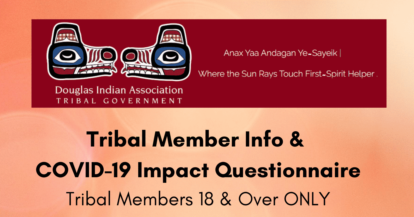Tribal Member Info & COVID-19 Impact Questionnaire Drawing Info