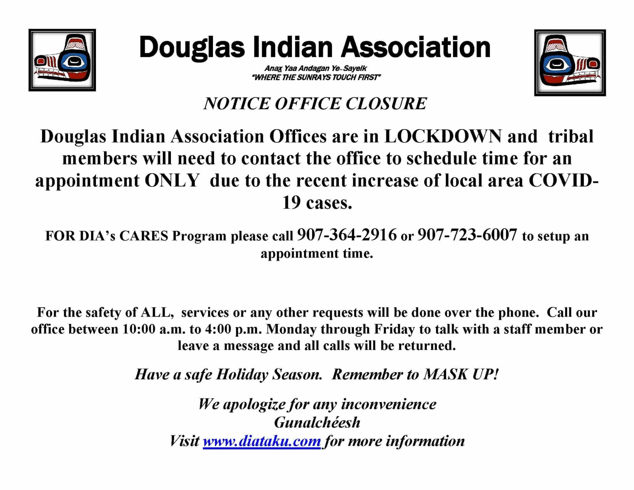 Notice Office Closure