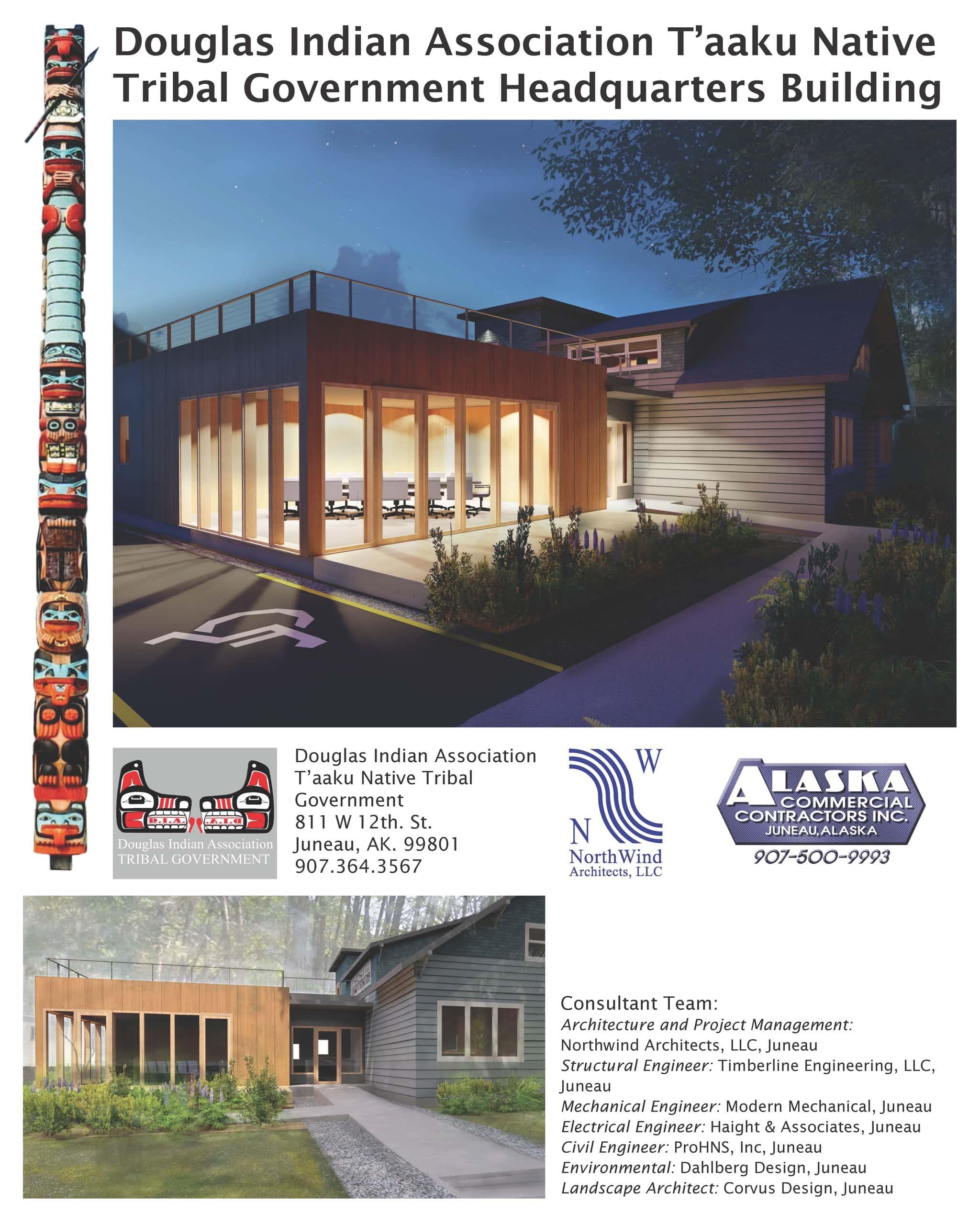 Douglas Indian Association Taaku Native Tribal Government Headquarters Building